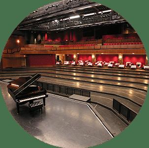 Multipurpose hall in cabaret
