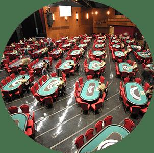 Multipurpose hall in auditorium and congress hall