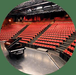 Multipurpose hall in theatre